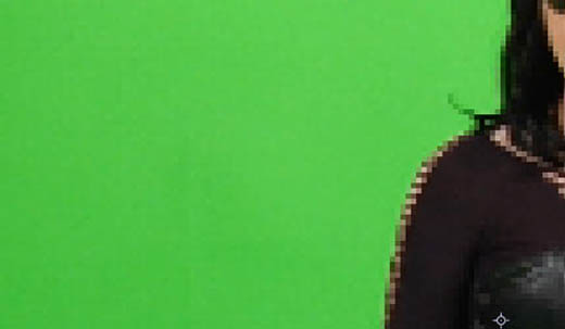 green screen shoulder