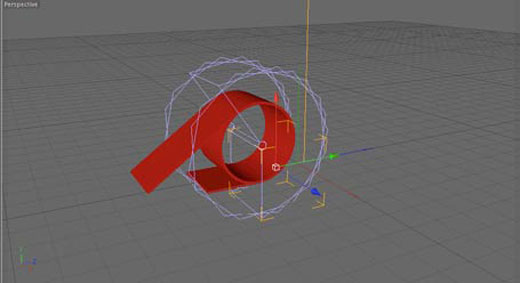 Cinema 4D Bend Deformer