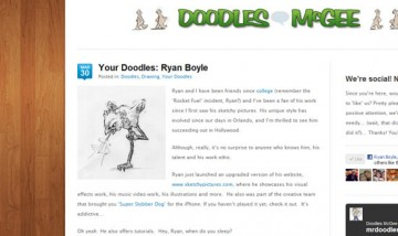 doodles mcgee article interview ryan boyle birds