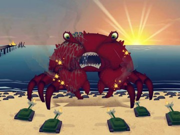 Giant Mutant Killer Crab