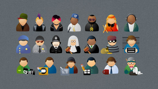 People Mini Icons