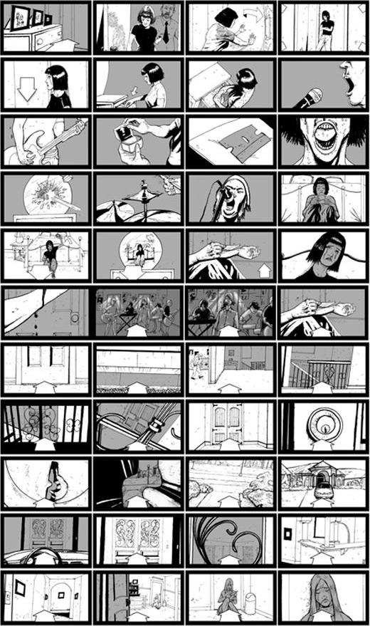 Between the Trees Storyboards