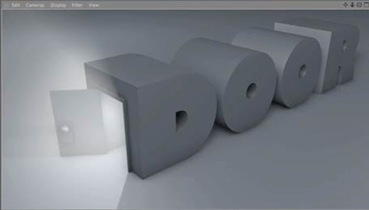 cinema 4d door type tutorial
