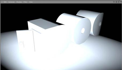 Cinema 4D Depth Pass