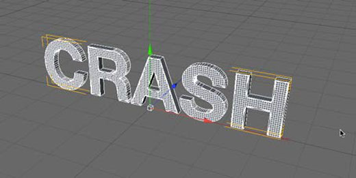 Cinema 4D Text Extrude