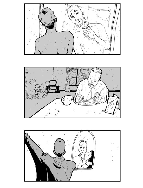 the Interview Storyboards