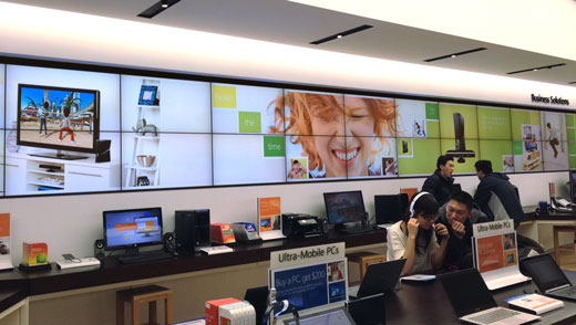 Microsoft Store Now is the Time