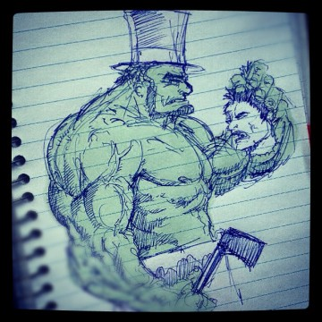 Abraham Lincoln: Vampire Hunter Hulk