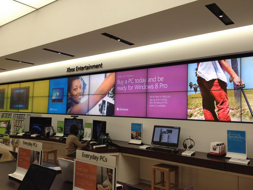 Microsoft Store WIndows Motion Graphic
