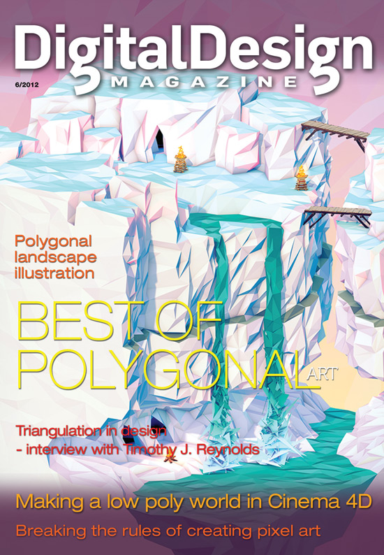 Digital Design Magazine Low Poly