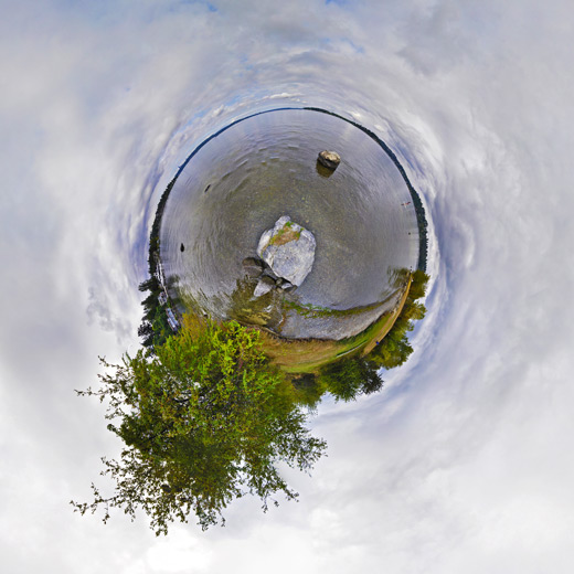 Freemont Tiny Planet Effect