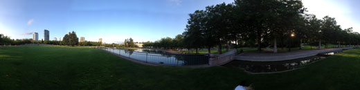 360 Panorama of Bellevue Park