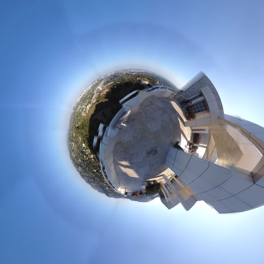 360 Stereographic Getty Center