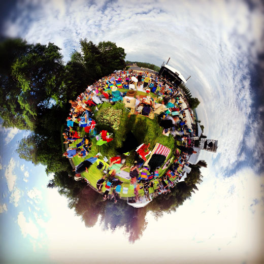 360 Stereographic Ringo Starr Concert