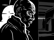 Adobe Ideas: Noir Illustrations