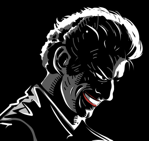 Adobe Ideas noir Joker