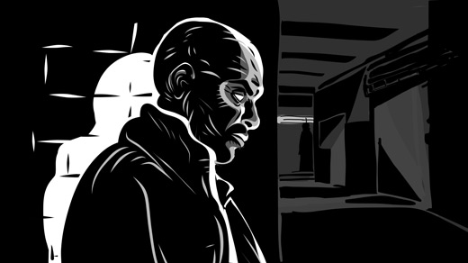Adobe Ideas noir illustration