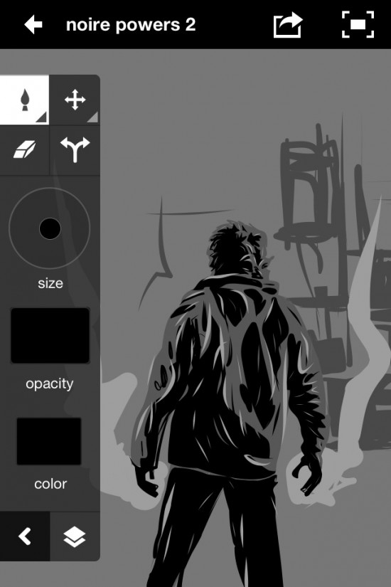 Adobe Ideas Noir Powers