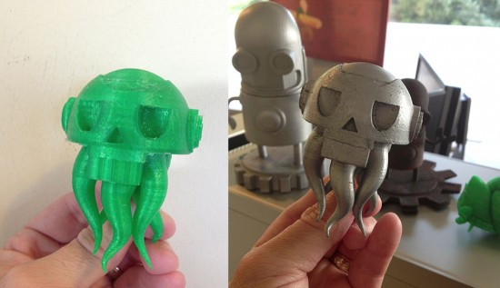 Makerbot 3D printing toy