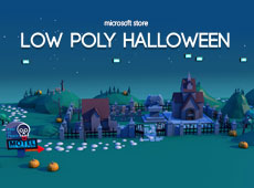 Microsoft Store: Low Poly Halloween
